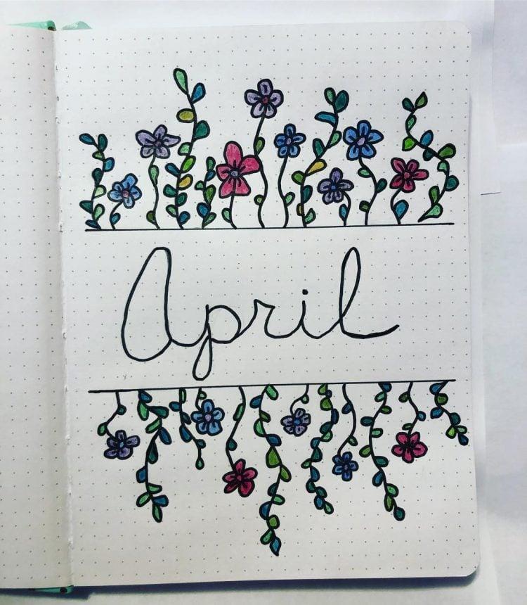 COLORFUL APRIL FLOWERS