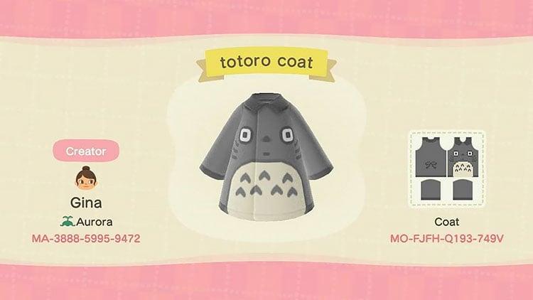 Totoro coat