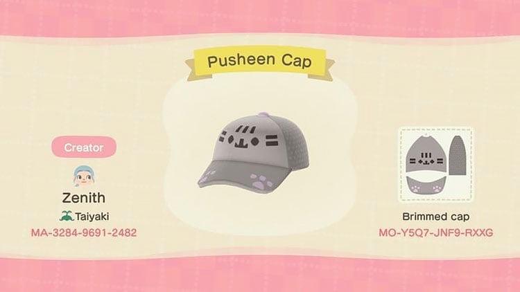 Pusheen cap