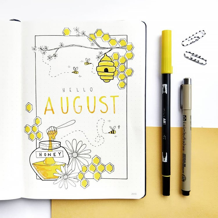 HELLO AUGUST COVER PAGE