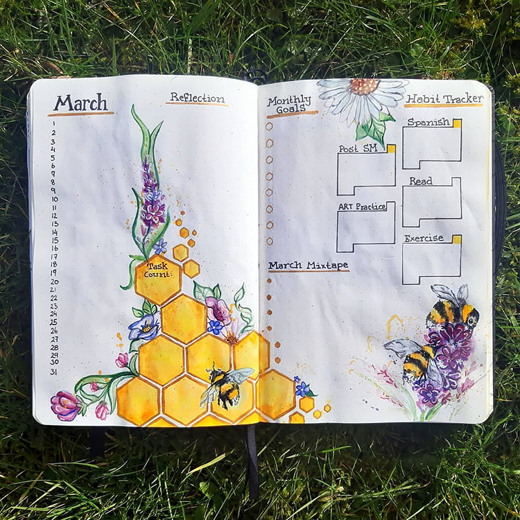 MARCH GOALS AND HABITS