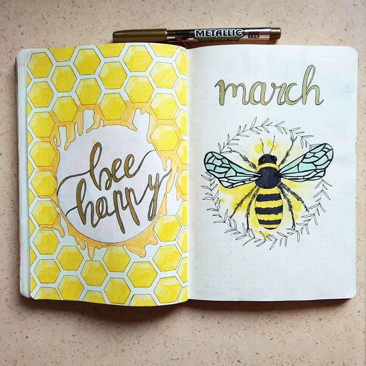 MARCH BEE COVER PAGE