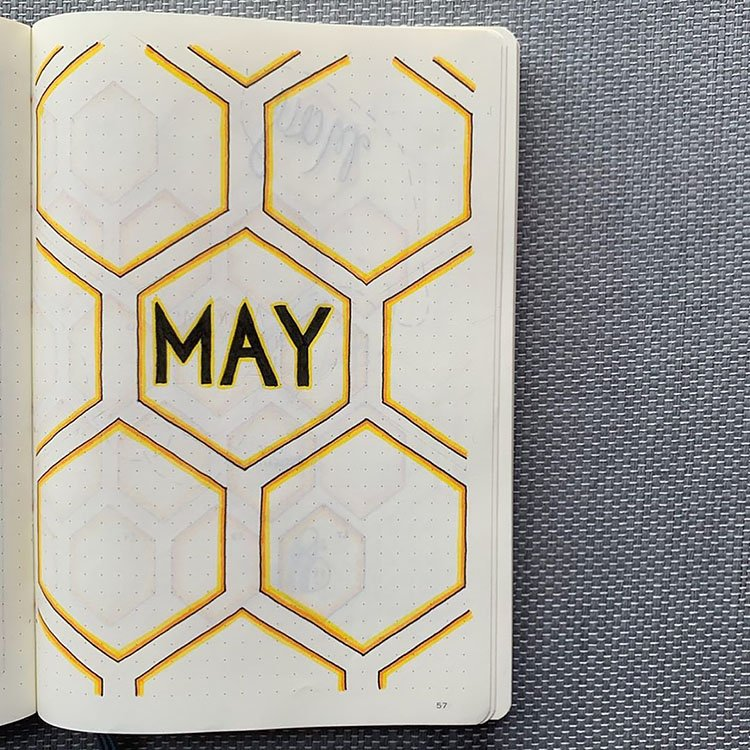 MAY HONEYCOMB COVER PAGE