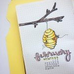 bee bullet journal 7