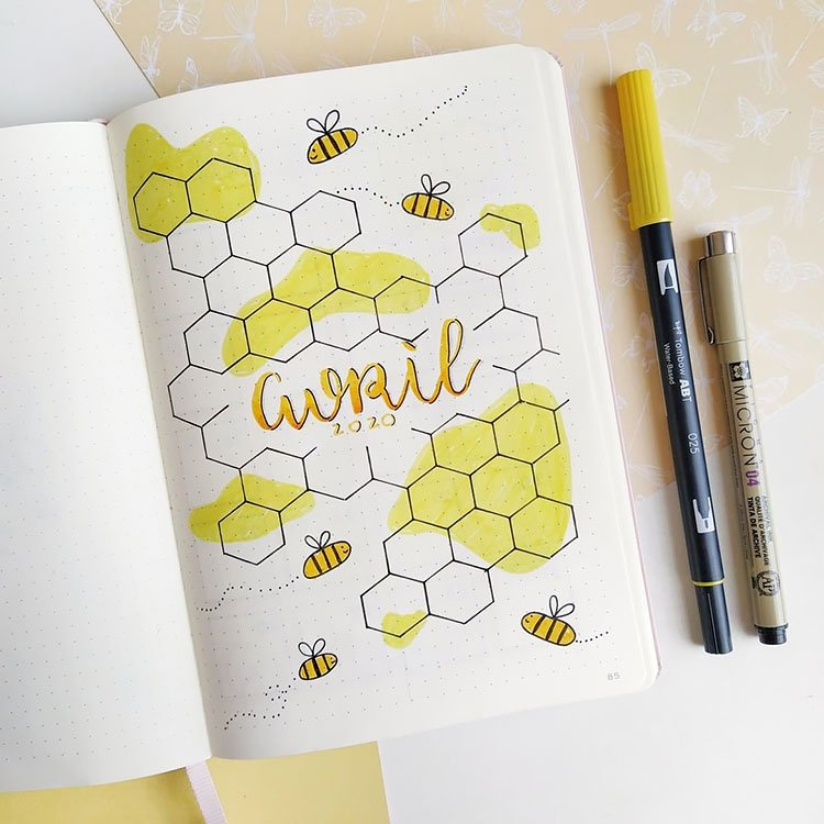 APRIL HONEYCOMB COVER PAGE