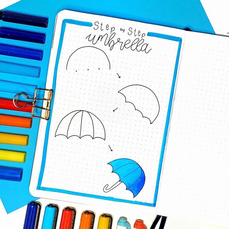 Step-by-Step Umbrella