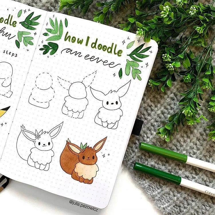 How to Doodle an Eevee