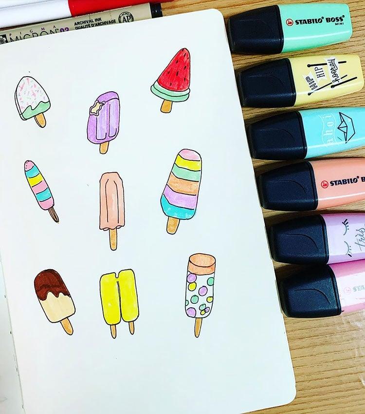 Popsicle Doodles
