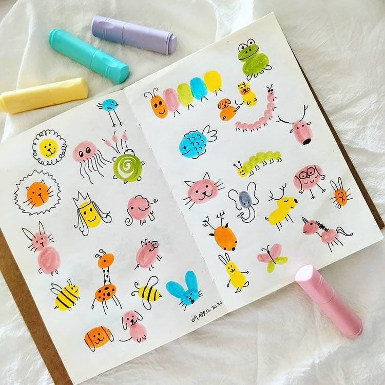 children doodles