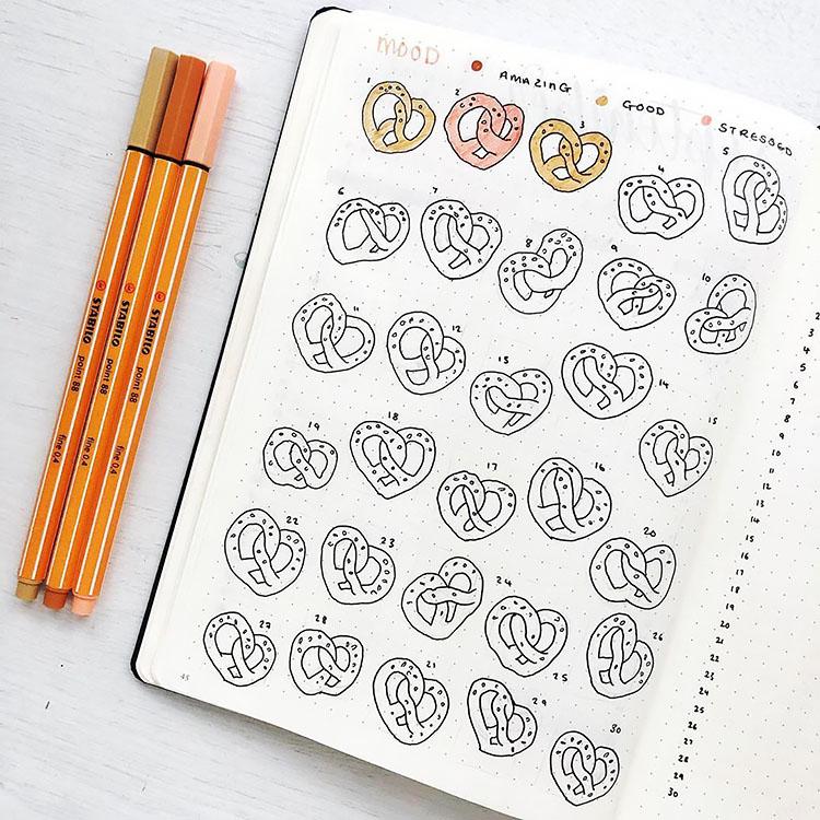 pretzel mood tracker