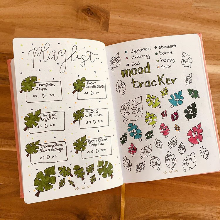 leaf mood tracker