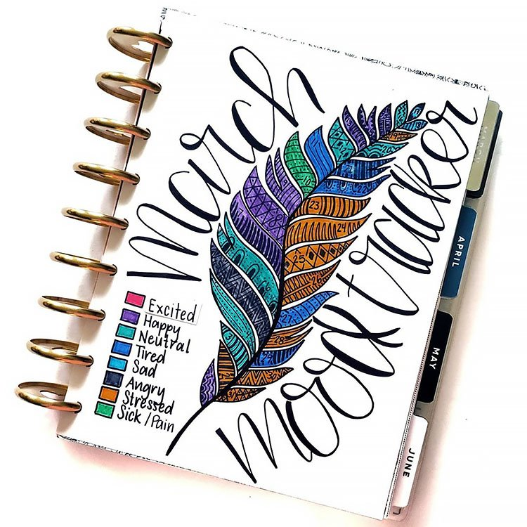feather mood tracker
