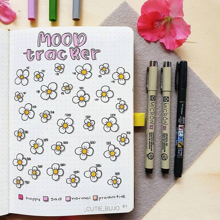daisy mood tracker