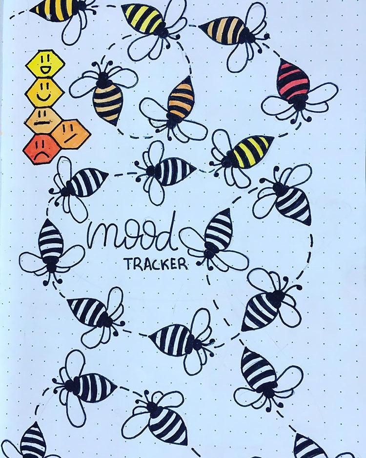 bees mood tracker