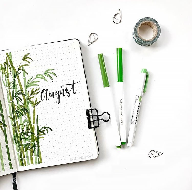 AUGUST BAMBOO COVER