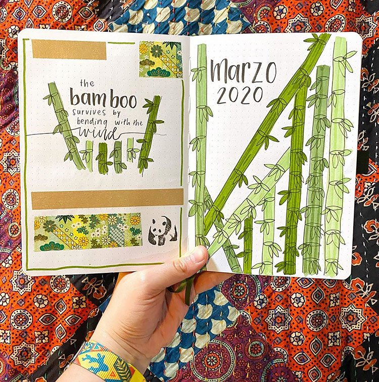 MARCH BAMBOO COVER PAGE