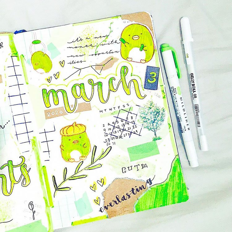 LIME GREEN MARCH COVER