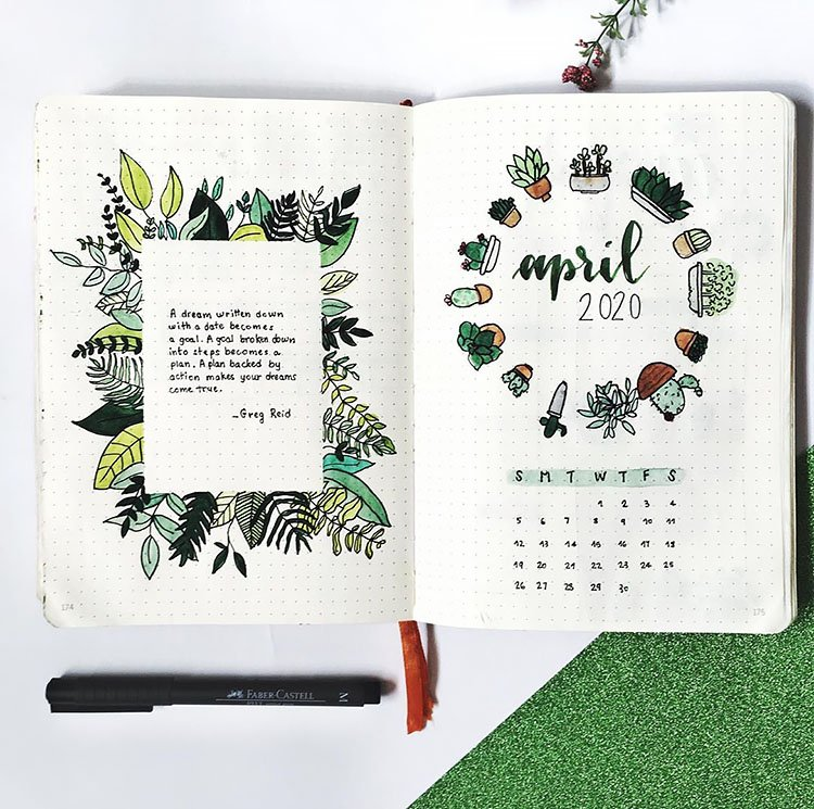 APRIL COVER WITH CACTI