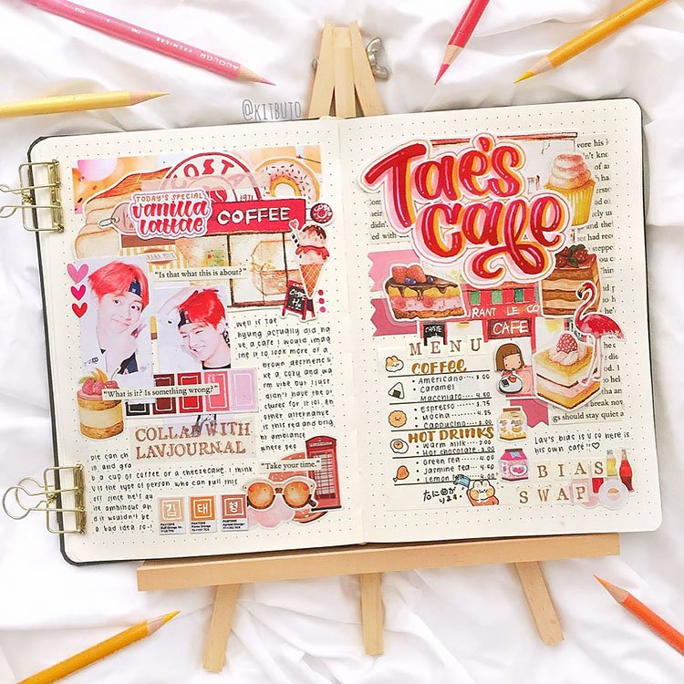 TAE'S CAFE SPREAD