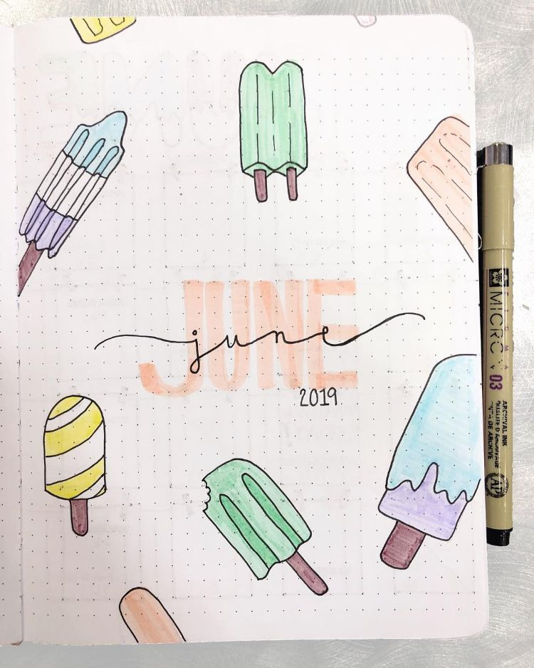 PASTEL POPSICLES JUNE COVER PAGE