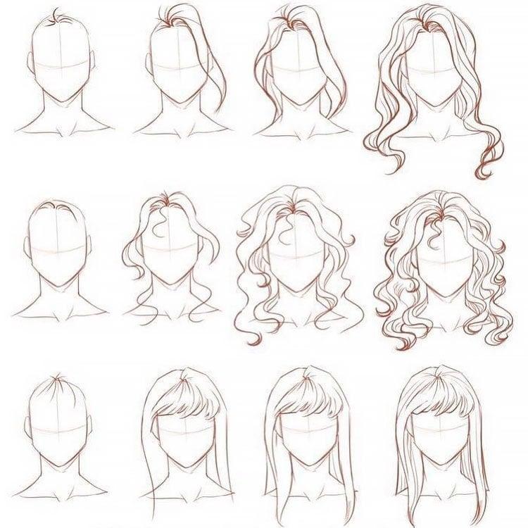 THREE HAIR TUTORIALS