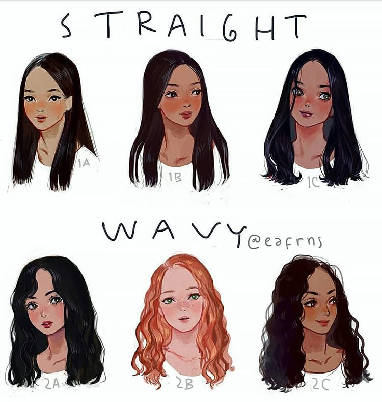 STRAIGHT AND WAVY HAIR FOR WOMEN