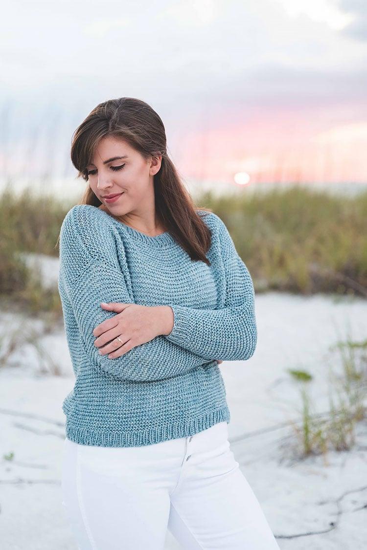 Knit Sweater Pattern sunbleached sweater
