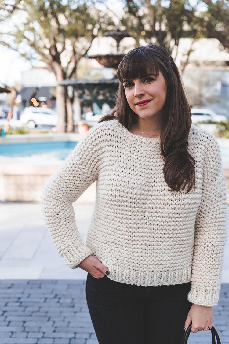 Simple Knit Sweater Pattern