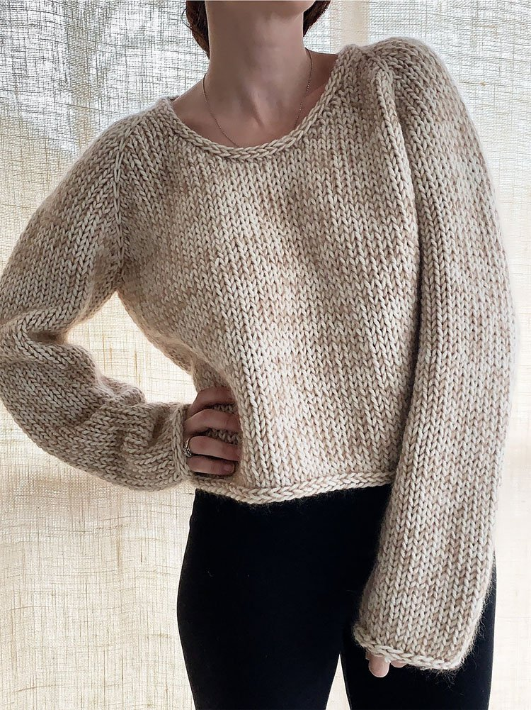 Daily Jumper Knitting Pattern