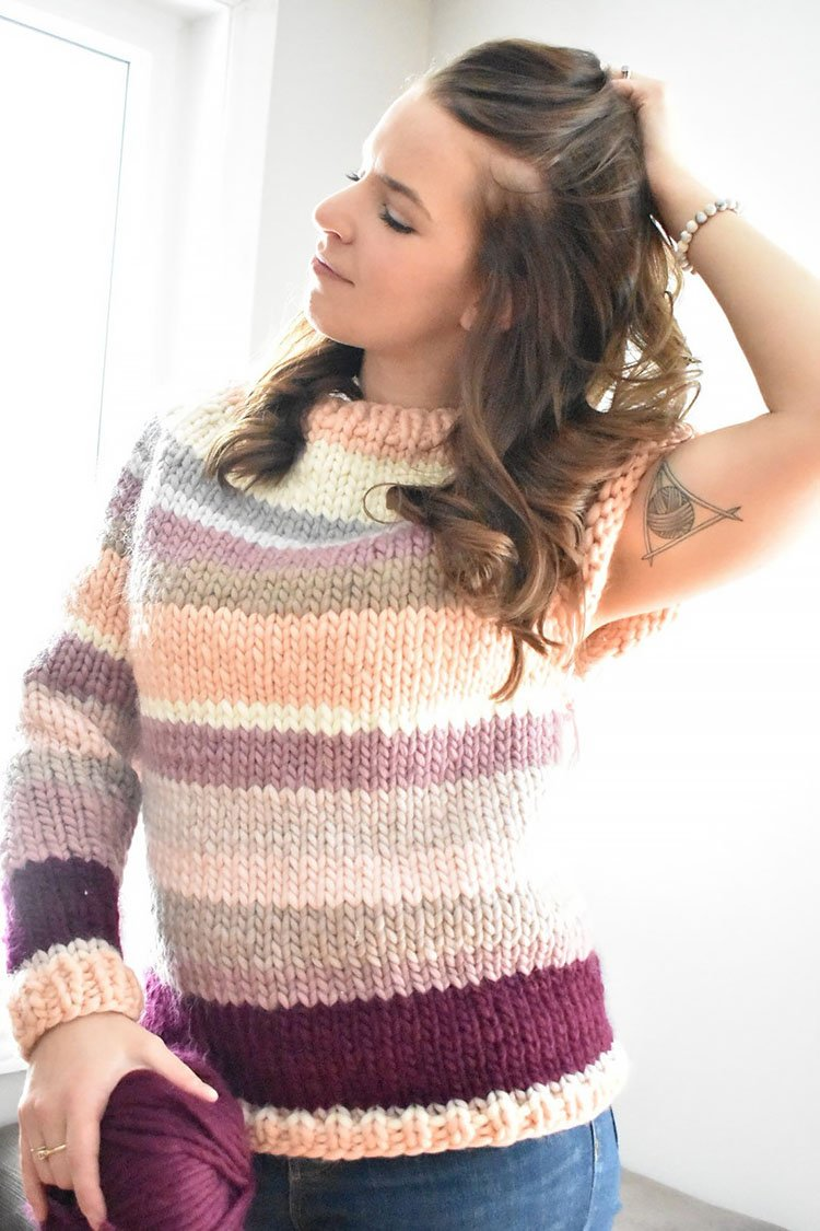 The Little Scrappy Sweater Knit