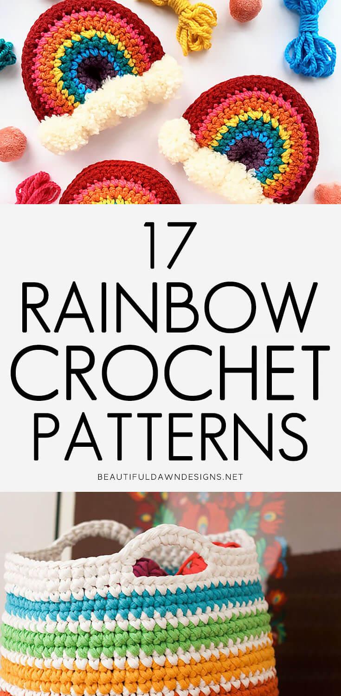 CROCHET RAINBOW PATTERNS