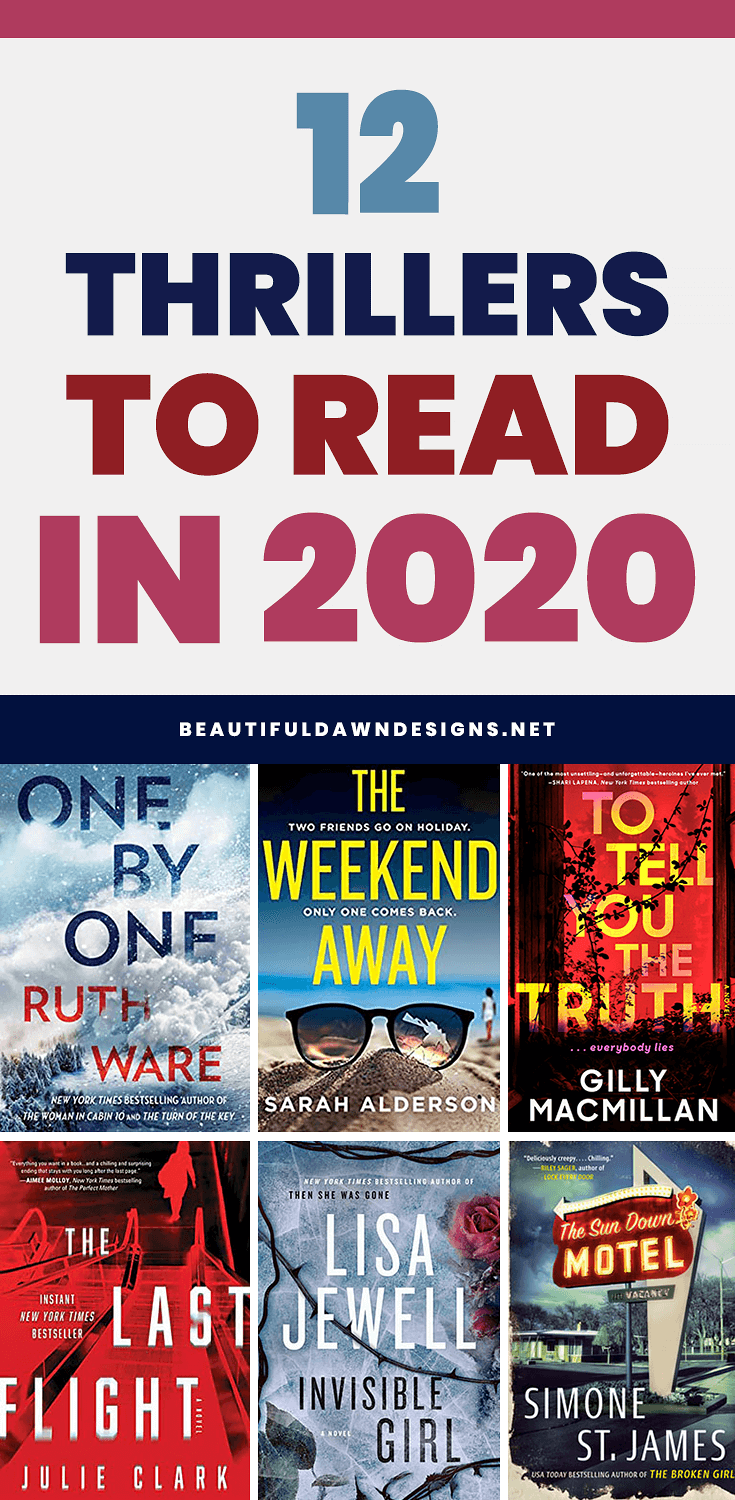 THRILLERS TO READ IN 2020