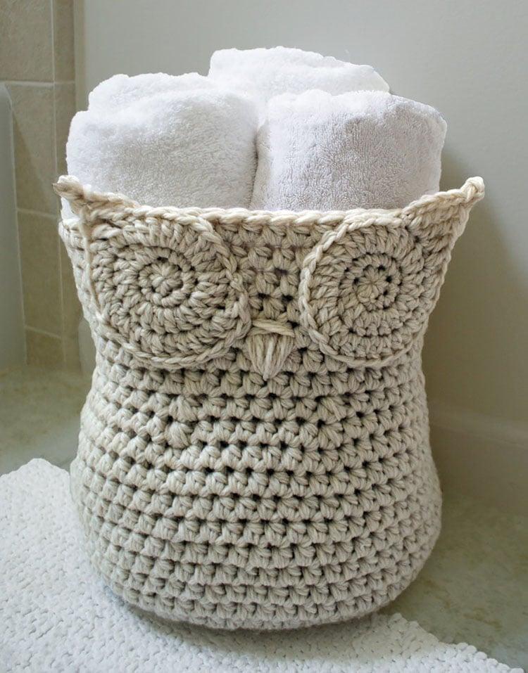 THE ORIGINAL OWL BASKET