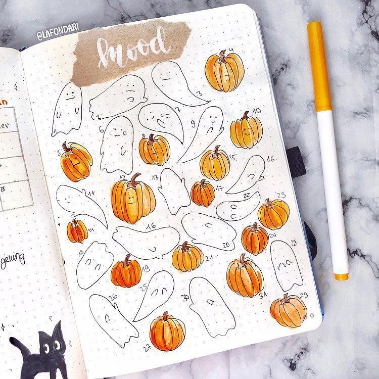 pumpkin mood tracker