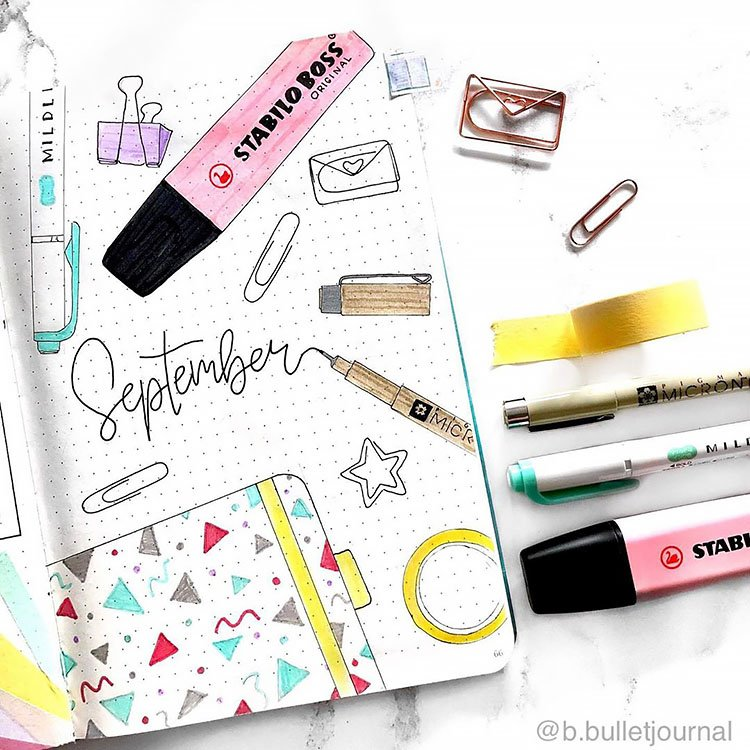 SCHOOL SUPPLIES BACK TO SCHOOL COVER PAGE