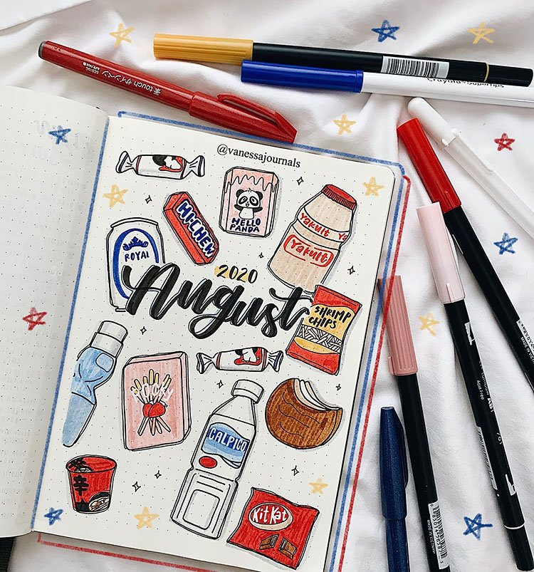 KOREAN SNACKS AUGUST COVER PAGE