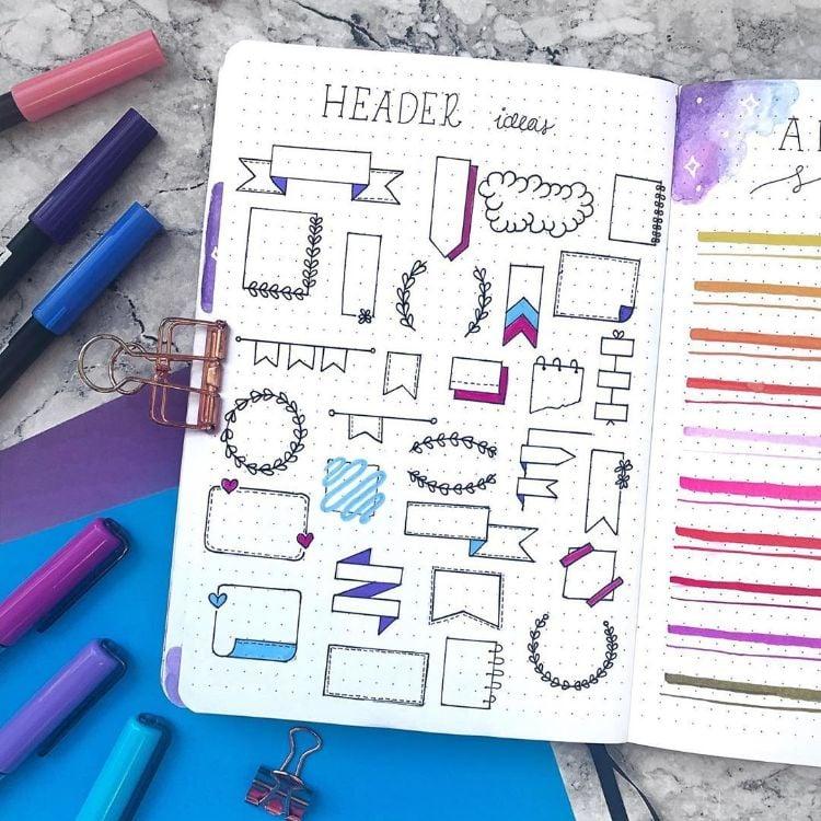 HEADER IDEAS