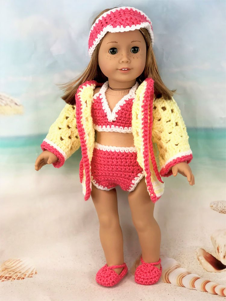 """18"""" DOLL SWIMSUIT"""