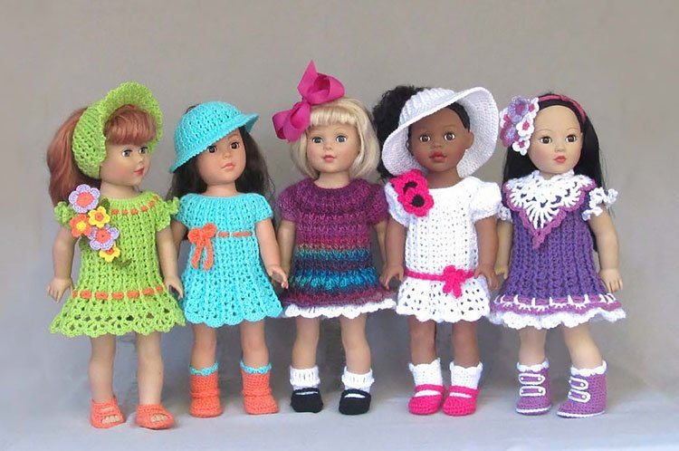 AMERICAN GIRL DOLL SIMPLE DRESSES