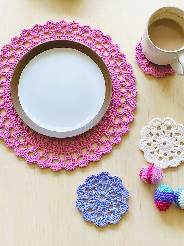 BLOSSOM FLOWER PLACEMAT