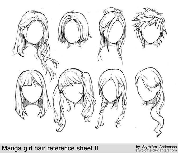 EIGHT HAIR STYLES