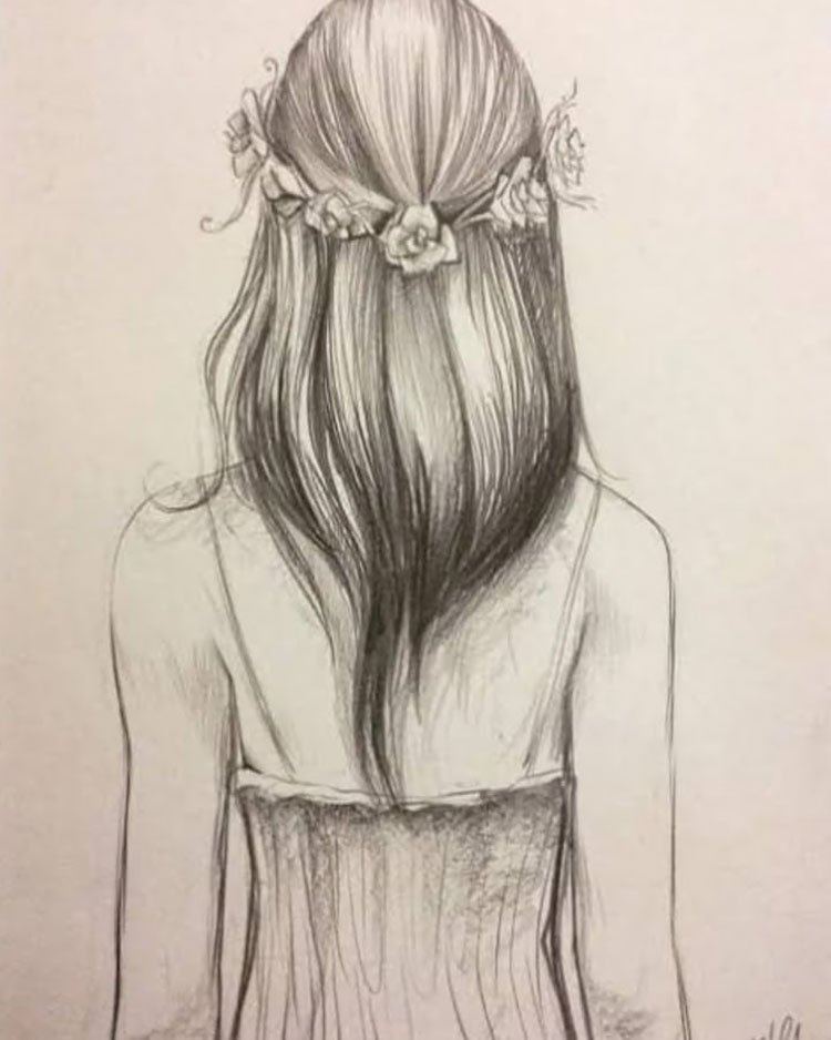 GIRL WEARING FLORAL WREATH