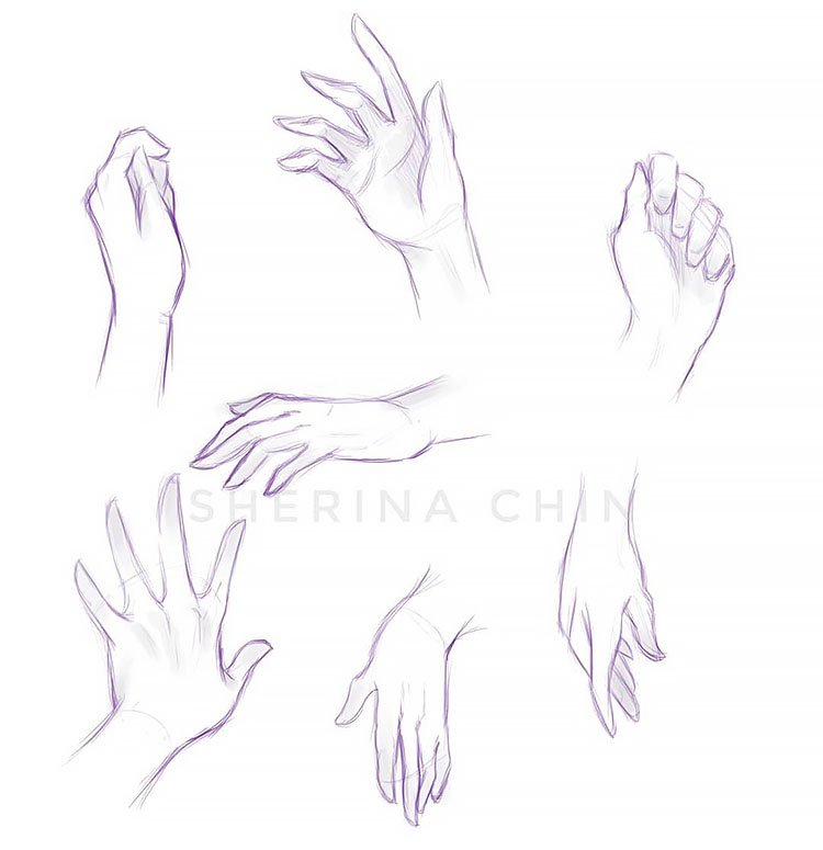 SIMPLE HAND SKETCHES