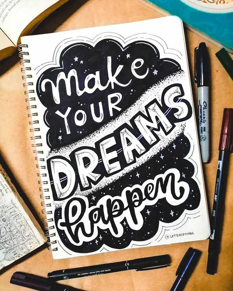 MAKE YOUR DREAMS HAPPEN QUOTE