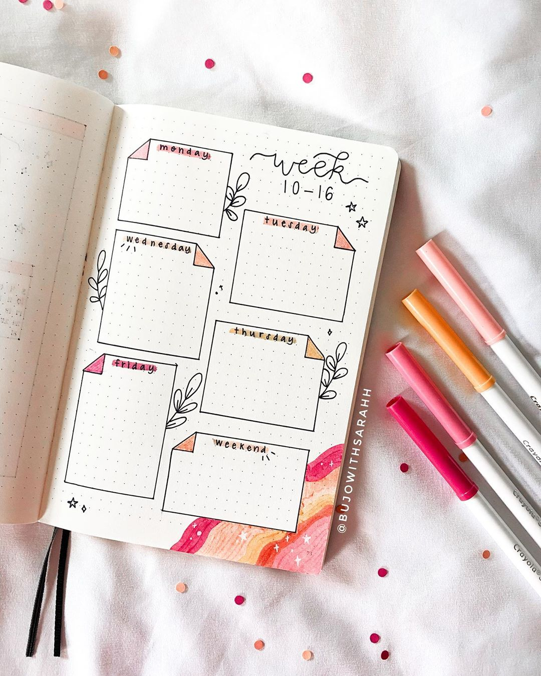 PAPER NOTES WEEKLY PLANNER