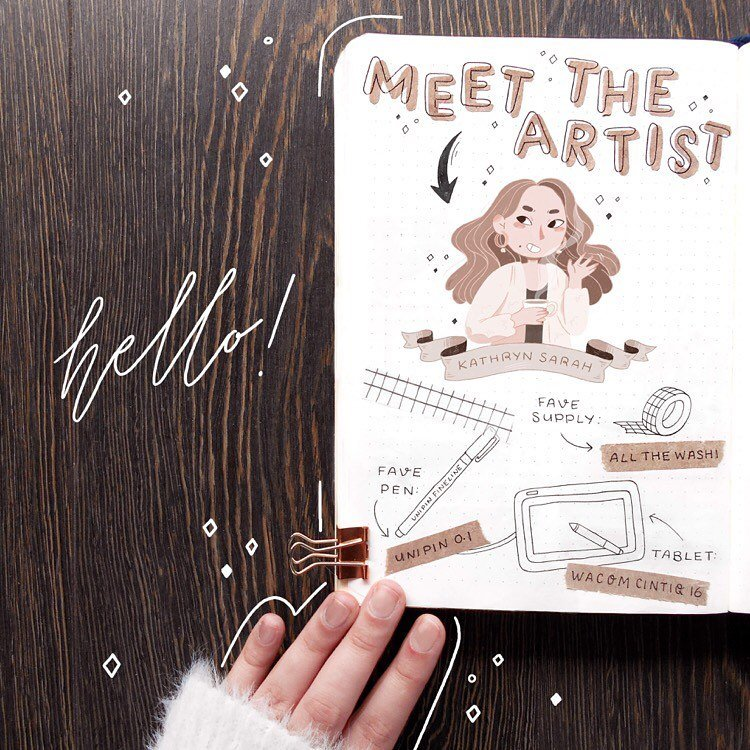 MEET THE ARTIST DRAWING