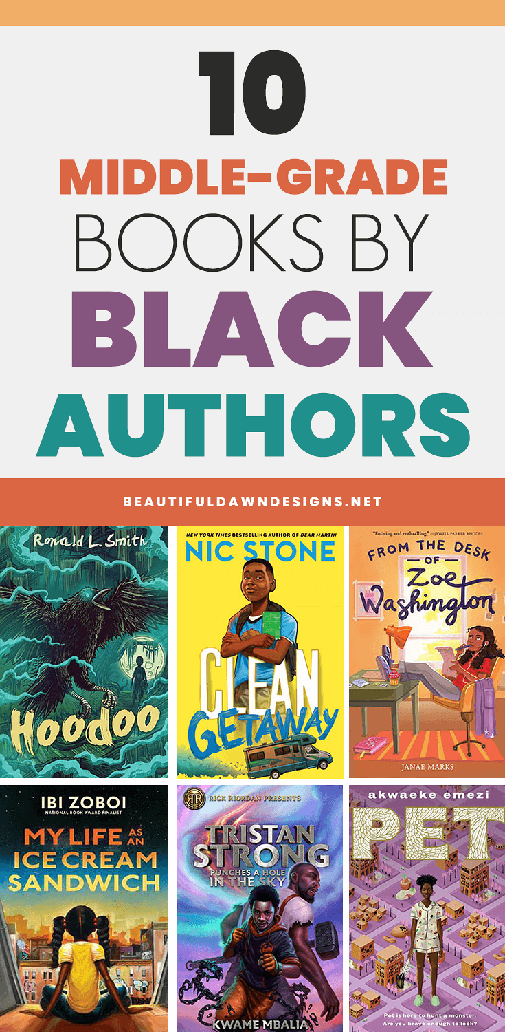 10 MIDDLE GRADE BOOKS BY BLACK AUTHORS