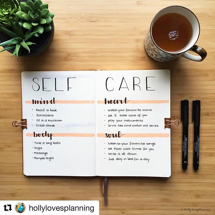 SELF-CARE FOR THE MIND, BODY, HEART, AND SOUL