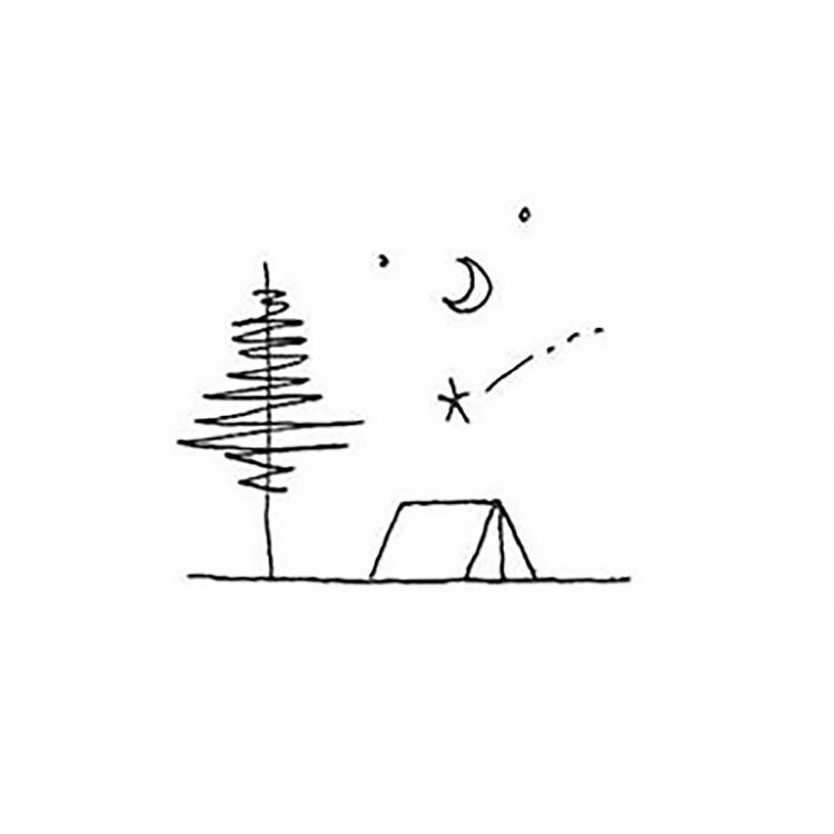 CAMPING SITE SKETCH