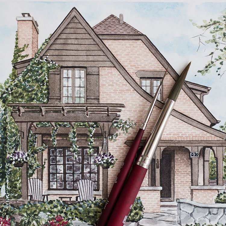 CALIFORNIA STYLE HOME PAINTING
